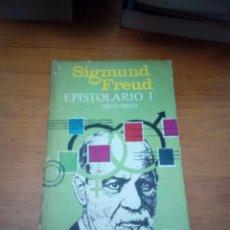 Libros de segunda mano: SIGMUND FREUD. EPISTOLARIO I. ( 1873 - 1890).- EST17B6. Lote 161393190