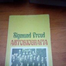 Libros de segunda mano: AUTOBIOGRAFIA. SIGMUND FREUD. EST17B6. Lote 161393762