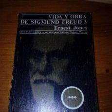 Libros de segunda mano: VIDA Y OBRA DE SIGMUND FREUD 3. ERNEST JONES. EST17B6. Lote 161396126