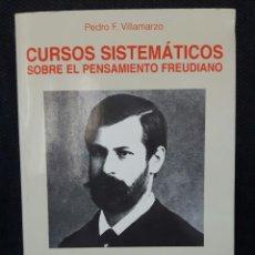 Libros de segunda mano: CURSOS SISTEMATICOS SOBRE EL PENSAMIENTO FREUDIANO - LIBRO - TAPA BLANDA - VOL 2 - CON FIRMA. Lote 162280826