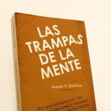 Libros de segunda mano: LAS TRAMPAS DE LA MENTE - JOSEPH T. HALLINAN. Lote 162645642