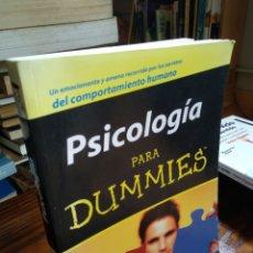 Libros de segunda mano: PSICOLOGÍA PARA DUMMIES.. Lote 162895986