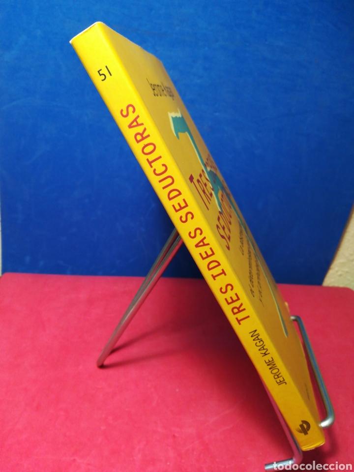 Libros de segunda mano: Tres ideas seductoras: la abstracción, el determinismo en la infancia y el principio del placer - Foto 2 - 162906346