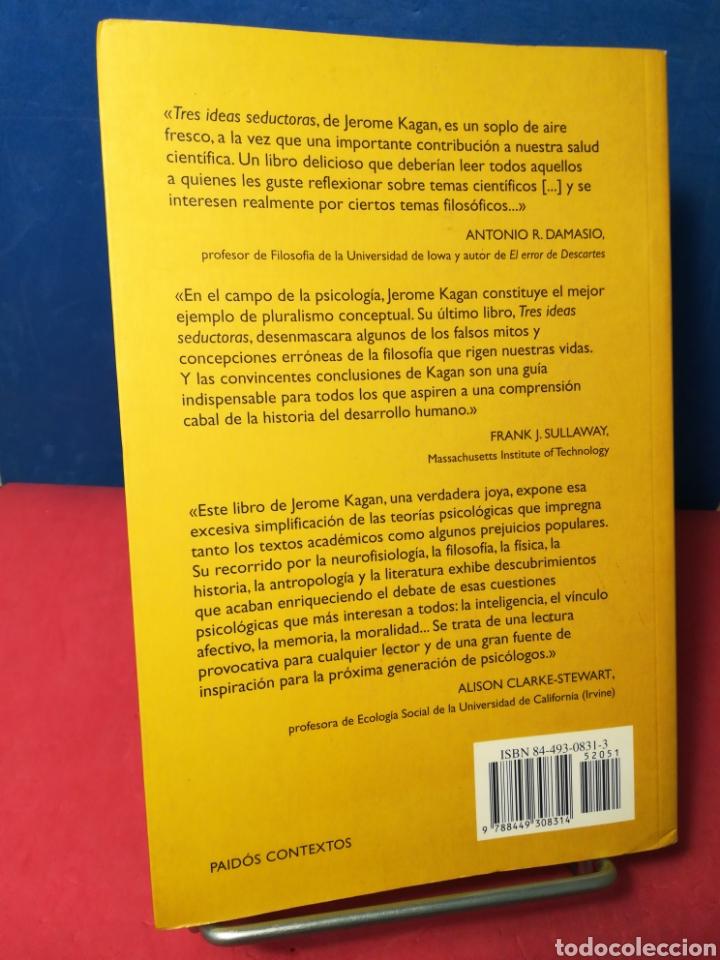 Libros de segunda mano: Tres ideas seductoras: la abstracción, el determinismo en la infancia y el principio del placer - Foto 3 - 162906346