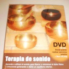 Livros em segunda mão: DVD LIBRO TERAPIA DEL SONIDO. DVD 85 MIN LIBRO 76 PÁG 2009 (PRECINTADO). Lote 163194626