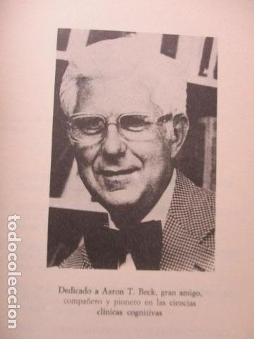 Libros de segunda mano: COGNICION Y PSICOTERAPIA. MAHONEY Michael J y FREEMAN Arthur. 1988. 1ª ed. Ediciones Paidós - Foto 9 - 163532914