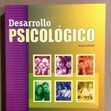 Libros de segunda mano: DESARROLLO PSICOLÓGICO. GRACE J. CRAIG. PEARSON PRENTICE HALL. 8ª EDICIÓN. 2001. EXCELENTE ESTADO!. Lote 163799682