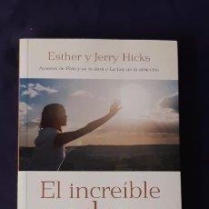 Libros de segunda mano: EL INCREÍBLE PODER DE LAS EMOCIONES - ESTHER HICKS JERRY HICKS - URANO 2008. Lote 165988734