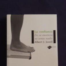 Libros de segunda mano: LA CONFIANZA - ALBERT JOVELL - PLATAFORMA EDITORIAL 2007. Lote 165989282