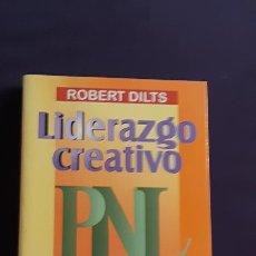 Libros de segunda mano: LIDERAZGO CREATIVO - ROBERT DILTS - URANO 1999. Lote 165989486