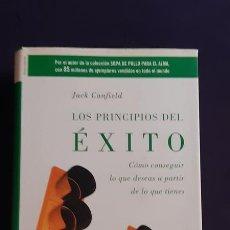 Libros de segunda mano: LOS PRINCIPIOS DEL ÉXITO - JACK CANFIELD - RBA INTEGRAL 2005. Lote 165989682
