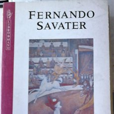 Libros de segunda mano: FERNANDO SAVATER - ÉTICA COMO AMOR PROPIO. Lote 166103478