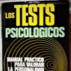 Libros de segunda mano: JUAN VIGNOLA - LOS TEST PSICOLÓGICOS. Lote 166110054