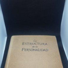 Libros de segunda mano: LIBRO LA ESTRUCTURA DE LA PERSONALIDAD PSICOLOGÍA PHILIPP LERSCH. Lote 166181361