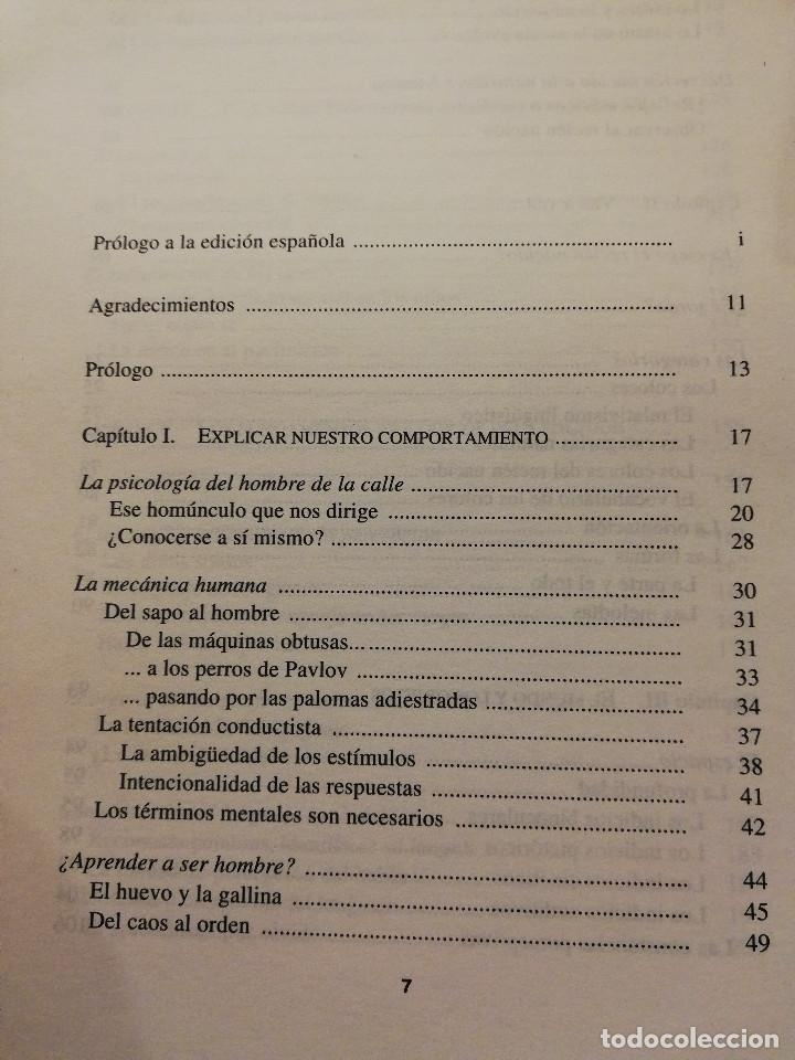 Libros de segunda mano: NACER SABIENDO. INTRODUCCIÓN AL DESARROLLO COGNITIVO DEL HOMBRE (MEHLER / DUPOUX) - Foto 3 - 166465690