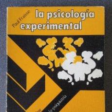 Libros de segunda mano: LA PSICOLOGÍA EXPERIMENTAL PAUL FRAISSE. Lote 166582918