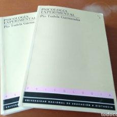 Libros de segunda mano: PSICOLOGÍA EXPERIMENTAL - PÍO TUDELA GARMENDIA. Lote 166711018