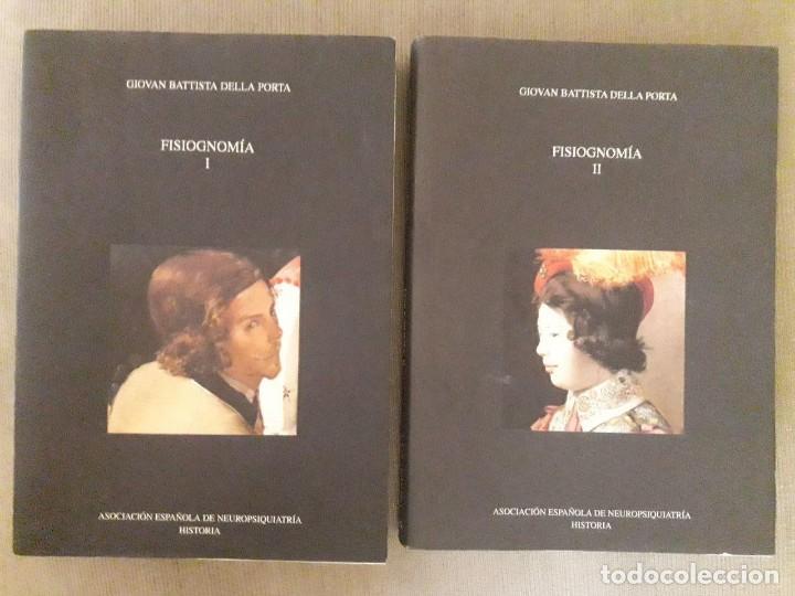FISIOGNOMÍA TOMOS I Y II / GIOVAN BATTISTA DELLA PORTA / ASOCIACIÓN ESPAÑOLA DE NEUROPSIQUIATRIA / 2 (Libros de Segunda Mano - Pensamiento - Psicología)