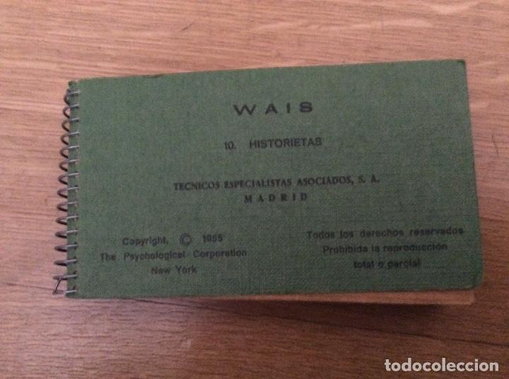 Libros de segunda mano: WAIS WISC Técnicos especialistas asociados Lote Lo que se ve Leer descripción - Foto 9 - 167972920