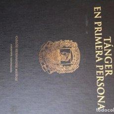 Libros de segunda mano: TANGER EN PRIMERA PERSONA. Lote 168063788