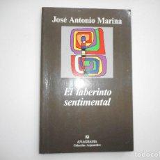 Libros de segunda mano: JOSÉ ANTONIO MARINA EL LABERINTO SENTIMENTAL Y94670. Lote 168565460