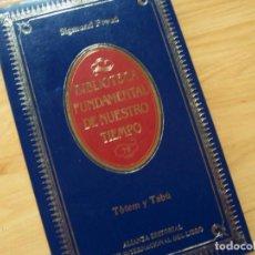 Libros de segunda mano: TOTEM Y TABÚ, DE SIGMUND FREUD. BIBLIOTECA FUNDAMENTAL DE NUESTRO TIEMPO. Lote 168655720