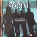Libros de segunda mano: INTRODUCCIÓN A LA PSICOLOGIA SOCIAL. PSICOLOGÍA SOCIAL. UNED.. Lote 168747281