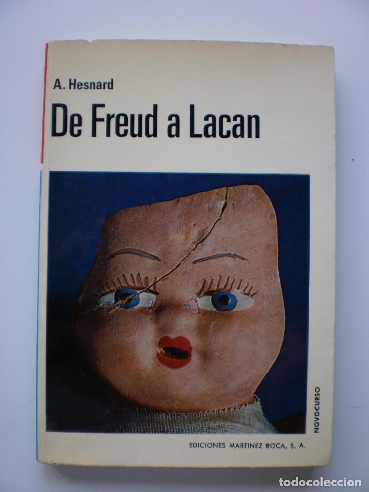 DE FREUD A LACAN (Libros de Segunda Mano - Pensamiento - Psicología)