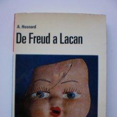 Libros de segunda mano: DE FREUD A LACAN. Lote 168999868