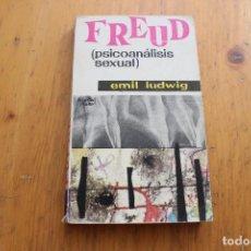 Libros de segunda mano: FREUD PSICOANÁLISIS SEXUAL EMIL LADWIG. Lote 169042716