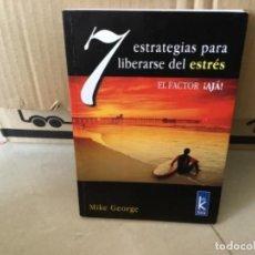 Libros de segunda mano: LIBRO EL FACTOR AJA PARA LIBERARSE DEL ESTRÉS KIER. Lote 169295424