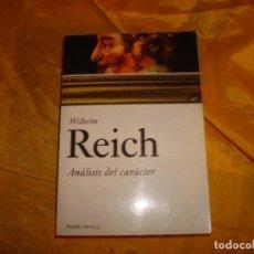 Libros de segunda mano: WILHELM REICH. ANALISIS DEL CARACTER. EDT. PAIDÓS, 2010.. Lote 169451616
