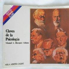Libros de segunda mano: CLAVES DE LA PSICOLOGÍA. Lote 170143132