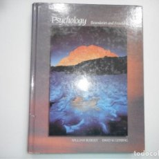 Libros de segunda mano: WILLIAM BUSKIST, DAVID W. GERBING PSYCHOLOGY. BOUNDARIES AND FRONTIERS(INGLÉS) Y95131. Lote 171109162