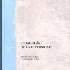Libros de segunda mano: PEDAGOGÍA DE LA DIVERSIDAD. Lote 171288410
