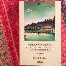 Libros de segunda mano: CREAR UN GENIO. LA TÉCNICA DEL MÉTODO SILVA PARA CREAR Y DESARROLLAR UN GENIO. COMO NUEVO. Lote 171398215