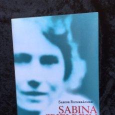 Libros de segunda mano: SABINA SPIELREIN DE JUNG A FREUD - SABINE RICHEBACHER. Lote 171423125