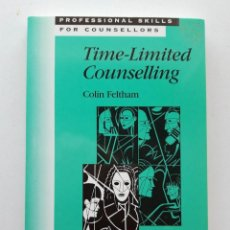 Libros de segunda mano: TIME-LIMITED COUNSELLING, COLIN FELTHAM. Lote 171615115