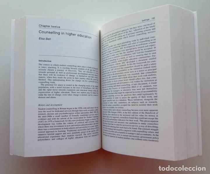 Libros de segunda mano: Handbook of Counselling, Stephen Palmer - Foto 2 - 171616265
