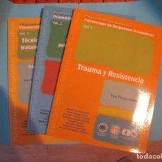 Libros de segunda mano: PSICOTERAPIA DE RESPUESTAS TRAUMATICAS (3 VOL. Y 6 CDS) PROGRAMA DE AUTOFORMACION - 2003-4 (NUEVO). Lote 171730810