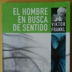 Libros de segunda mano: EL HOMBRE EN BUSCA DE SENTIDO. VIKTOR FRANKL. HERDER.. Lote 171799857