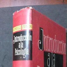 Libros de segunda mano: INTRODUCCIÓN A LA PSICOLOGÍA-GEMELLI-ZUNINI-(LUIS MIRACLE EDITOR-SEGUNDA EDICIÓN-1955). Lote 171833918