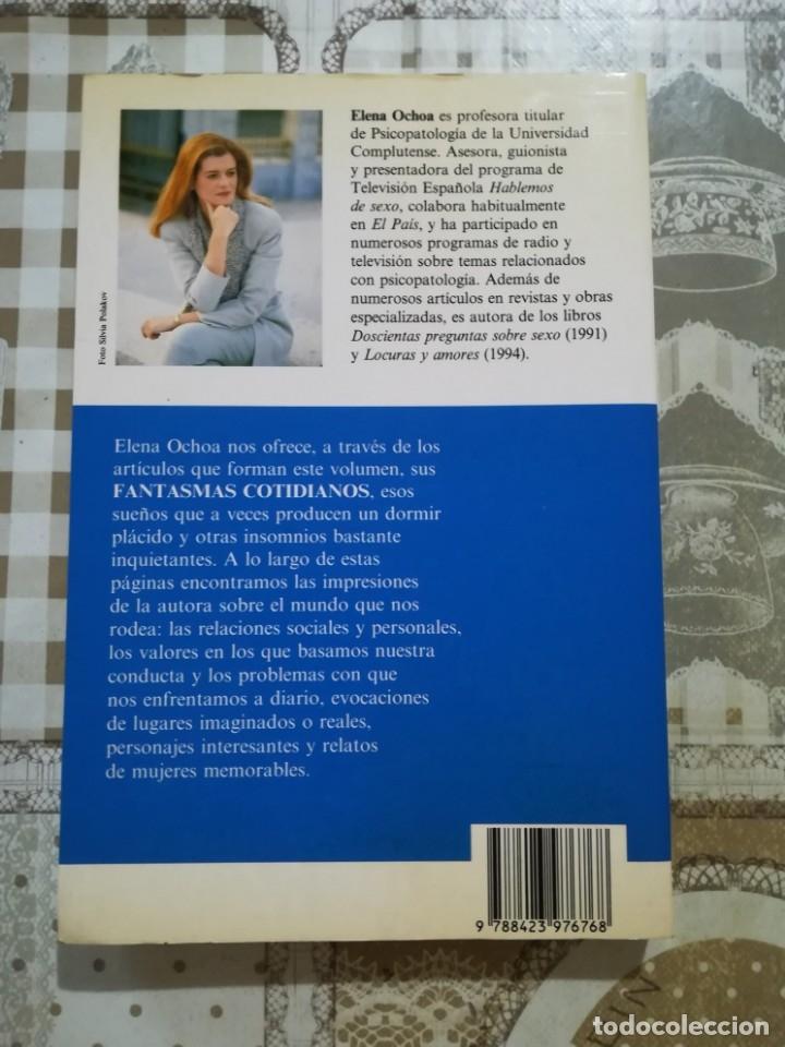 Libros de segunda mano: Fantasmas cotidianos. Mujeres, lugares y sueños - Elena Ochoa - Foto 2 - 172608038