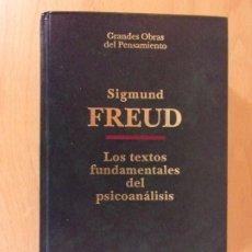 Libros de segunda mano: LOS TEXTOS FUNDAMENTALES DEL PSICOANÁLISIS / SIGMUND FREUD / ALTAYA. 1993. Lote 172703825