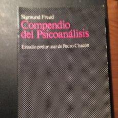 Libros de segunda mano: COMPENDIO DEL PSICOANÁLISIS, SIGMUND FREUD. Lote 172849649