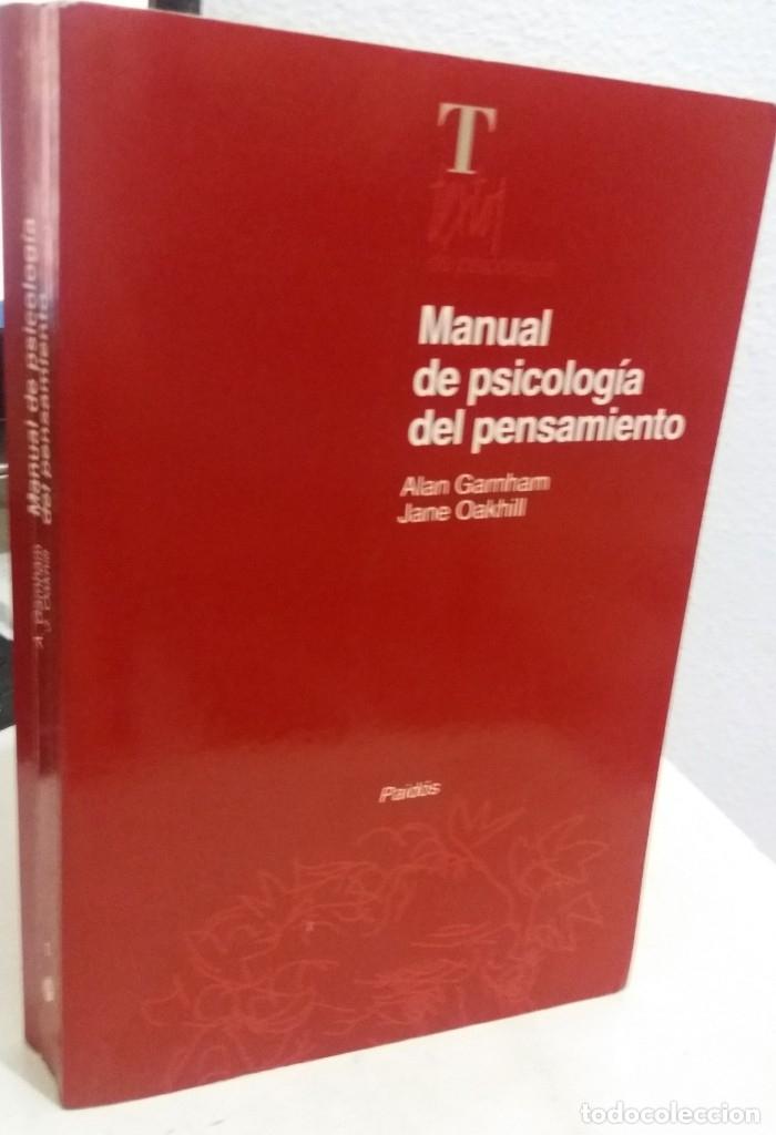 MANUAL DE PSICOLOGÍA DEL PENSAMIENTO - GARNHAM / OAKHILL (Libros de Segunda Mano - Pensamiento - Psicología)