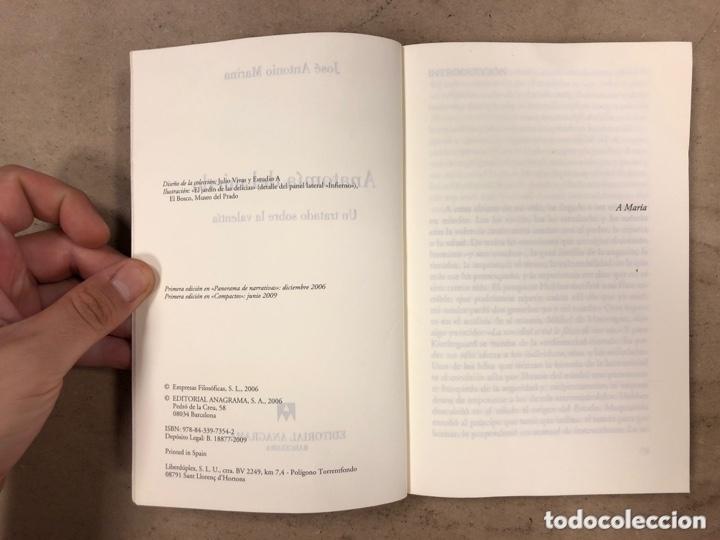 Libros de segunda mano: ANATOMÍA DEL MIEDO (UN TRATADO SOBRE LA VALENTÍA). JOSÉ ANTONIO MARINA. 255 PÁGINAS. - Foto 3 - 172994882