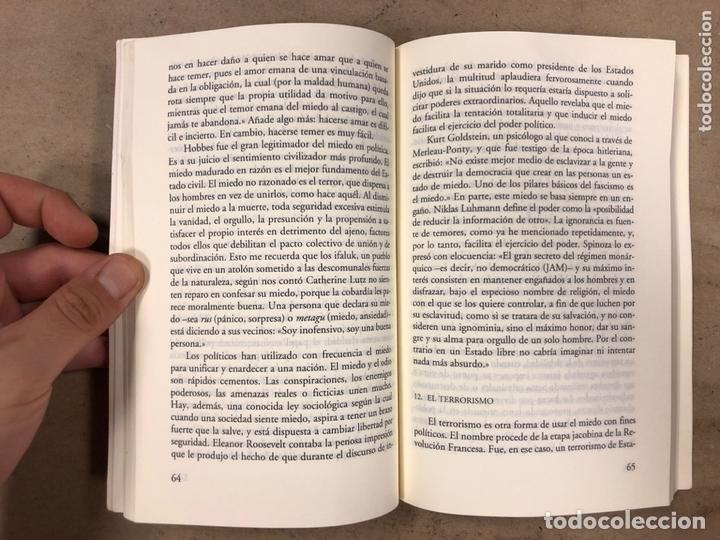 Libros de segunda mano: ANATOMÍA DEL MIEDO (UN TRATADO SOBRE LA VALENTÍA). JOSÉ ANTONIO MARINA. 255 PÁGINAS. - Foto 4 - 172994882
