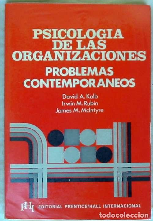 PSICOLOGÍA DE LAS ORGANIZACIONES - PROBLEMAS CONTEMPORÁNEOS - 1982 - VER INDICE (Libros de Segunda Mano - Pensamiento - Psicología)