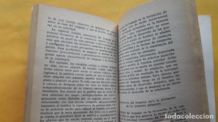 Libros de segunda mano: INTRODUCCIÓN EVOLUCIONISTA A LA PSICOLOGÍA. (A.R. LURIA) - Foto 4 - 173427384